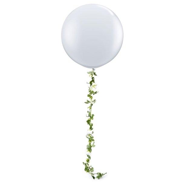 Ghirlanda trandafiri albi (1.75m) 2