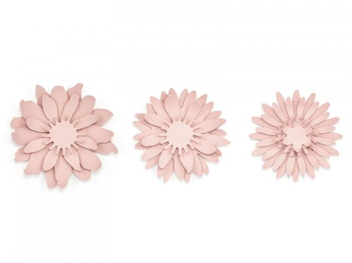 Nuferi hartie roz pudra, 12 piese 0