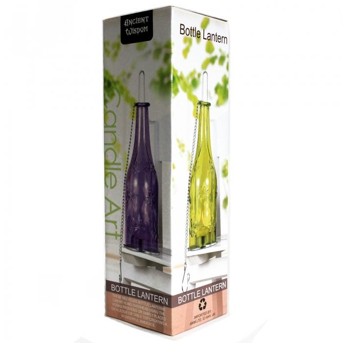 Sticla felinar de culoare Violet 3