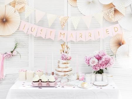 Cake topper Mr&Mrs, auriu 25.5cm4