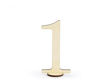 Numere masa din lemn, 10.5cm (1 pach/ 10 pc.)3