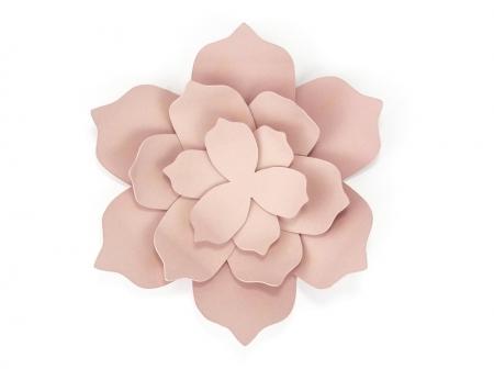 Nuferi hartie roz pudra (3 nuferi/set)4