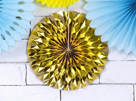 Set Evantaie decorative aurii (1 pach / 3 pc.)3