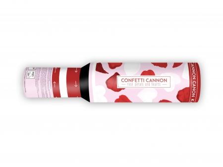 Confetti cu inimioare si petale de trandafir, 30cm [2]