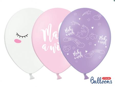 Set Baloane Unicorn - fetite, 6 buc 30cm0