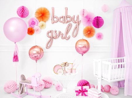 Balon folie Baby, rose gold, 73.5x75.5cm1