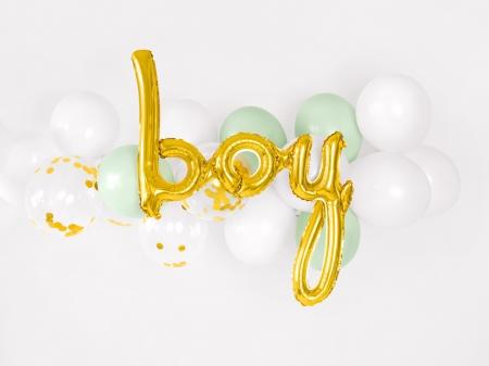 Balon folie BAIAT (BOY), auriu, 63.5x74cm [0]