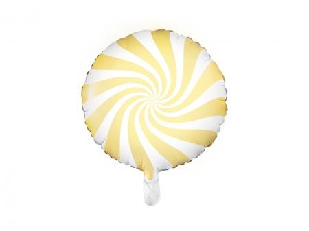 Balon Candy, 45cm, galben1