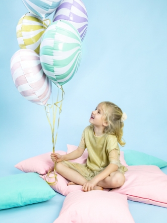 Balon Candy, 45cm, roz deschis3