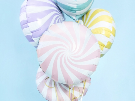 Balon Candy, 45cm, roz deschis0