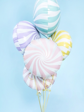 Balon Candy, 45cm, roz deschis2