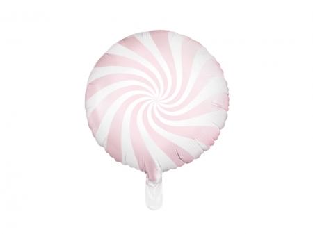 Balon Candy, 45cm, roz deschis1