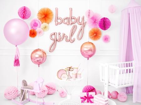 Balon folie Ombre, roz&portocaliu, 35cm2
