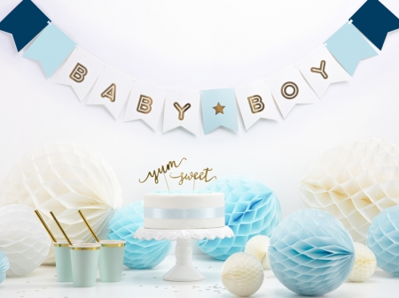Banner Botez Baieti Baby Boy, mix, 15 x 160 cm0