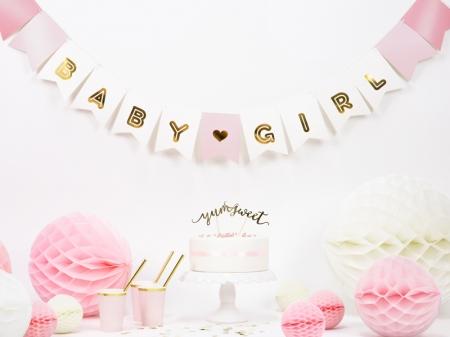 "Banner Botez Fetite ""Baby Girl"", mix, 15 x 175 cm0"