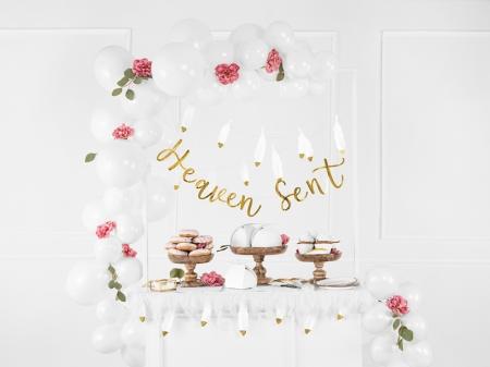 """Banner Botez """"Heaven Sent"""", auriu, 14.5x85cm5"""