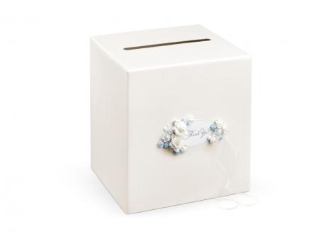 Casuta dar nunta Fairytale Garden flori albastre [1]