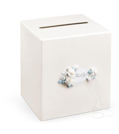 Casuta dar nunta Fairytale Garden flori albastre [0]
