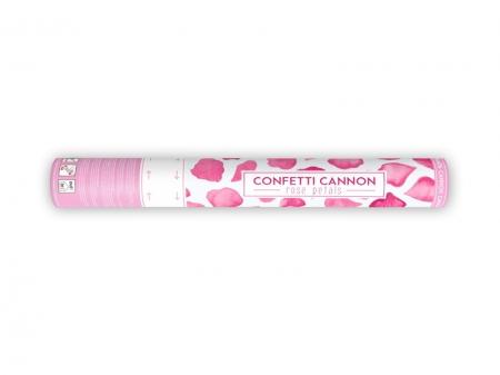 Confetti cannon petale de trandafiri, roz, 40cm3