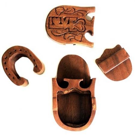 Cutie bijuterii din lemn Sheesham- ambalaj cadouri speciale1