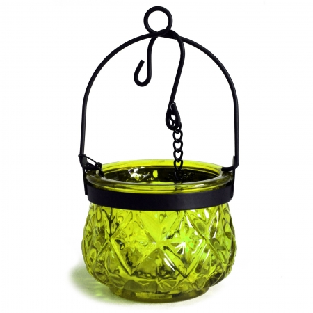 Felinar MAROCAN cu agatatoare - verde muschi [0]