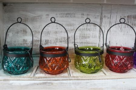 Felinar marocan ambiental, culoare VIOLET2