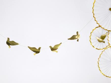 Ghirlanda porumbei carton auriu [3]
