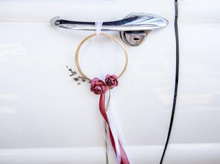 Set inele decorative din ratan culoare rosu inchis (decor frontal si 4 manere usa)3