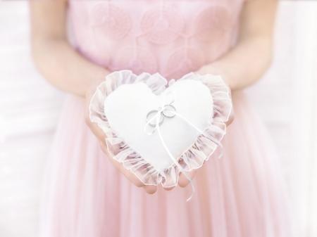"Pernuta verighete ""Heart"" 13x13cm1"