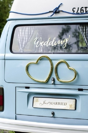 Placuta inmatriculare, Just Married, 50 x 11.5cm [0]