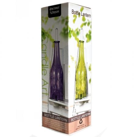 Sticla felinar ambiental, culoare Violet3