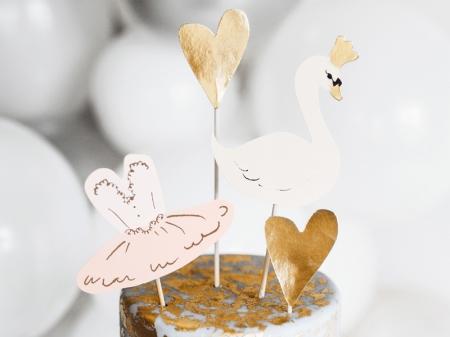 Decoratiuni tort botez fetite (4 buc)3