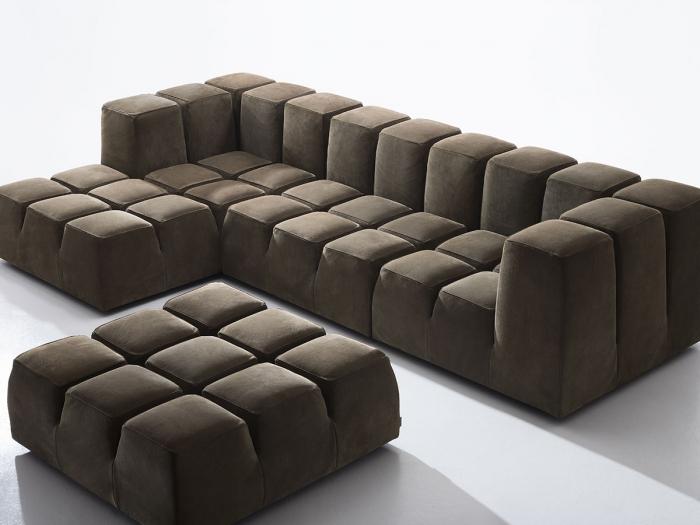 Canapele modulare tapitate TOBLO Antidiva 1