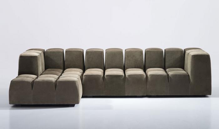Canapele modulare tapitate TOBLO Antidiva 0