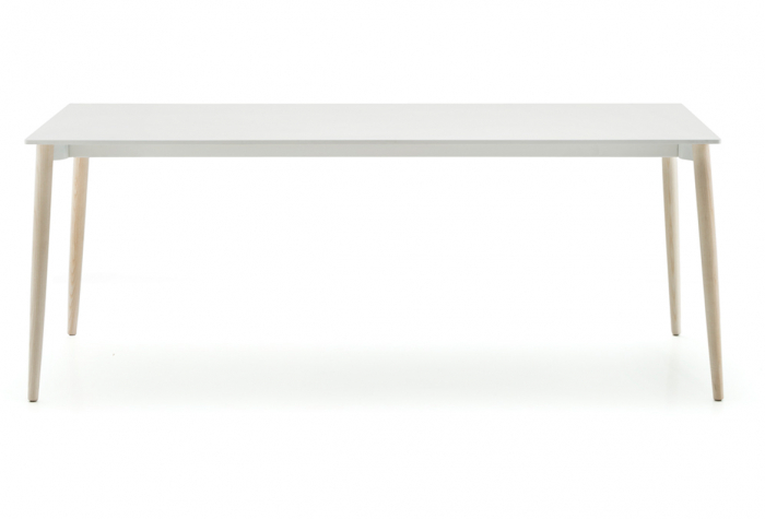 Mese fixe picioare lemn frasin design scandinav MALMO TMLF 0