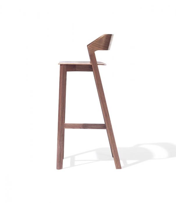 Scaune de bar din lemn MERANO [3]