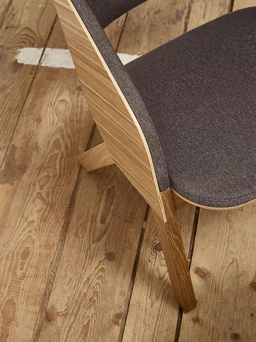Fotolii lounge din lemn tapitate MERANO [8]