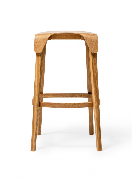 Scaune de bar lemn LEAF 1