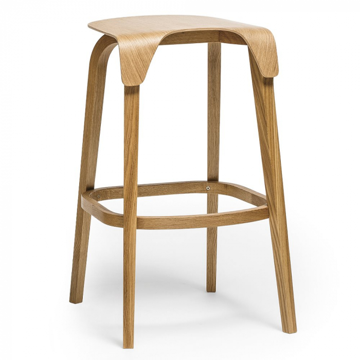 Scaune de bar lemn LEAF 0