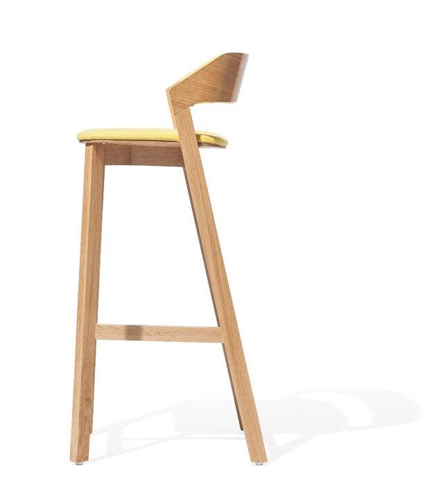 Scaune din lemn cu sezut si spatar tapitate MERANO [2]