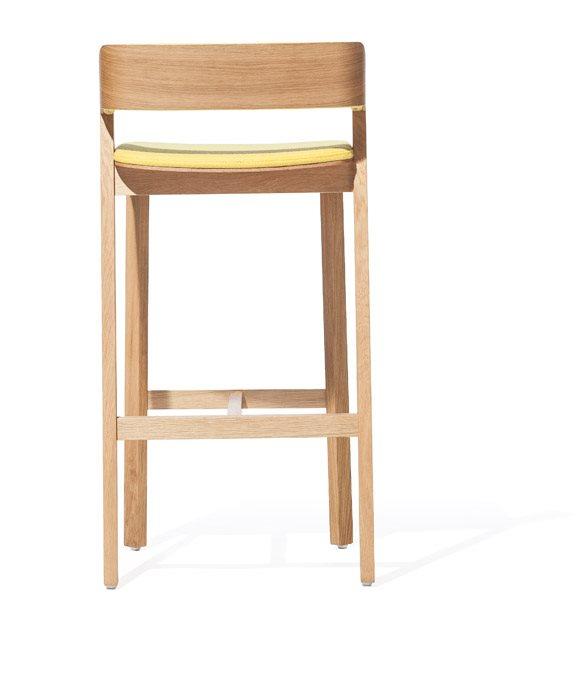 Scaune din lemn cu sezut si spatar tapitate MERANO [3]