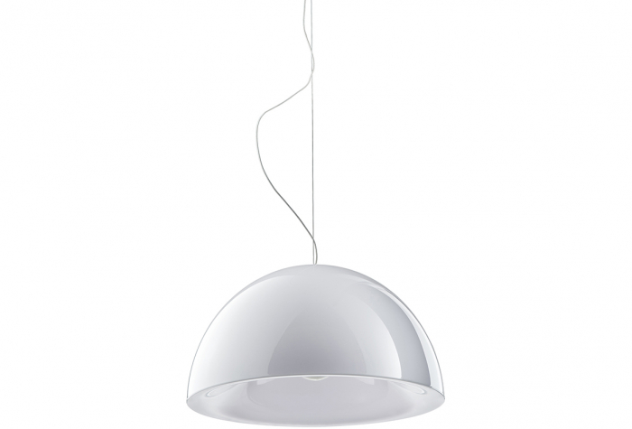 Lampa suspendata cu abajur din policarbonat L002S/BA 3