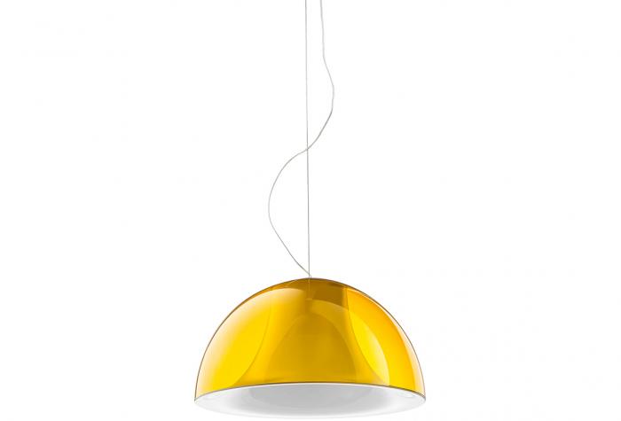 Lampa suspendata cu abajur din policarbonat L002S/BA 4