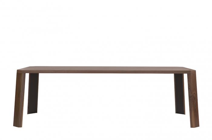 Mese din lemn detaliu metalic O-RIZON 001 1