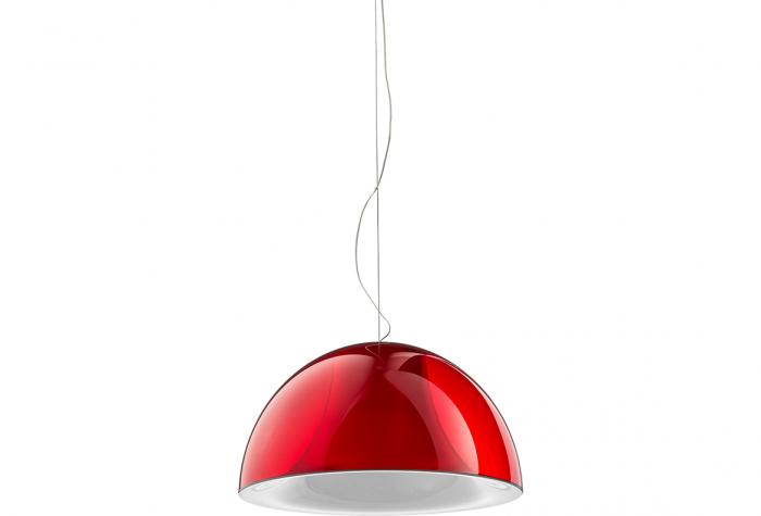 Lampa suspendata cu abajur din policarbonat L002S/BA 5