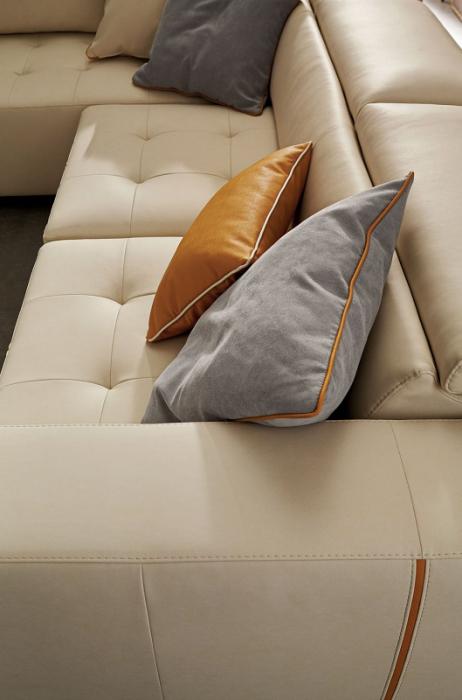 Canapele modulare cu tetiere si sezut extensibil LAURENCE 5