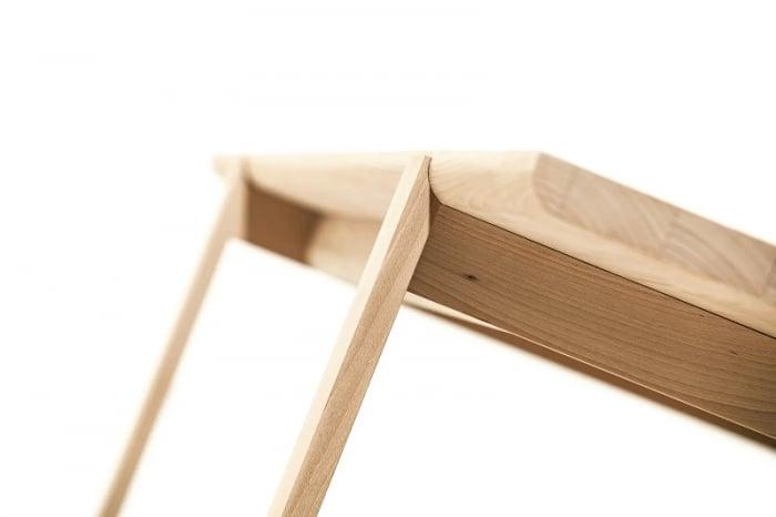 Mese fixe lemn masiv DELTA 718 2