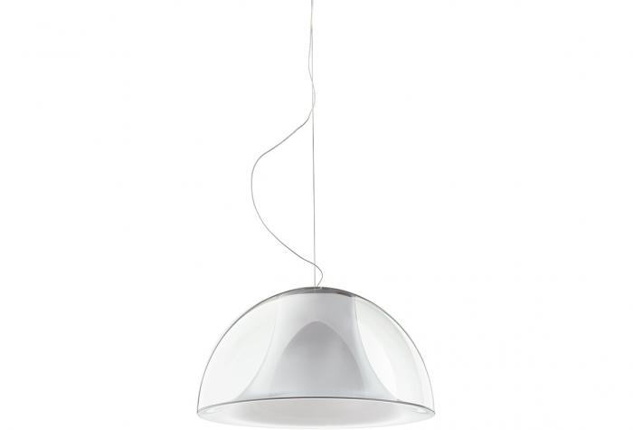 Lampa suspendata cu abajur din policarbonat L002S/BA 6