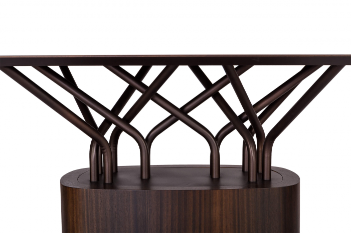 Mese lemn structura metalica WOOD-OO 001 2