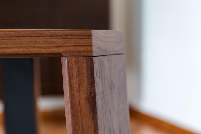 Mese din lemn detaliu metalic O-RIZON 001 5